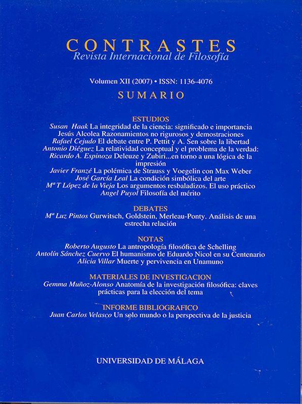 Vol. 12 (2007)