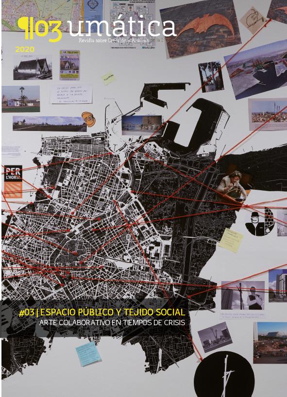 #03 ESPACIO PÚBLICO Y TEJIDO SOCIAL_ Portada de Rogelio López Cuenca_ Mapa de Valencia (2015)_ MNCARS