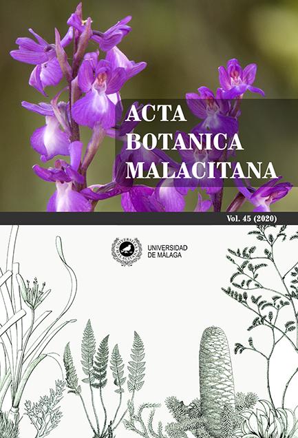 Acta Botanica Malacitana. Portada Volumen 45. Año 2020