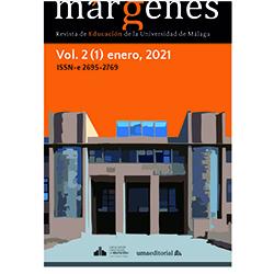 Portada Revista Márgenes de Educación Volumen 2 Número 1